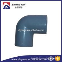 Cotovelo de 90 graus de encaixe de tubulação do PVC, cotovelo de 90 graus de encaixe de tubulação de pvc