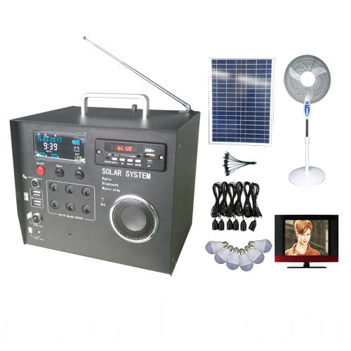 40w solar radio homemade
