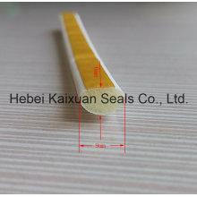 Boa tira de selo à prova de intempéries de lacuna de porta flexível