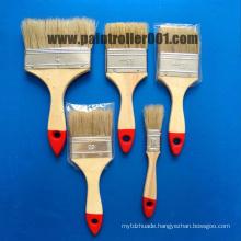 "1-4""Bristle Wooden or Plastic Handle Paint Brush"