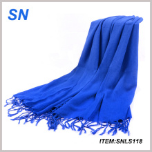 2015 Newest Design Acrylic Solid Custom Scarf