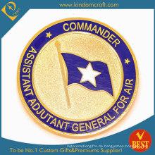 Unterstützen Sie benutzerdefinierte Air National Guarder Goldmünze (KD-105)