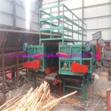 Завод прямых продать высокая эффективность деревянное debarker журнала debarking машина с двойной Слот