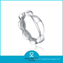 Fashionale Plain 925 Silver Ring (SH-R0439)
