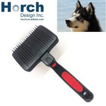 Taiwan Tender Safe Plastic Handle Dog Pin Brush