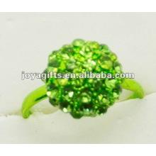 2012 anillo caliente de las bolas de Shamballa de la venta