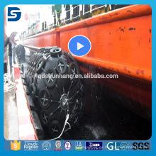 Defensa de goma costa afuera llena del barco hecha en China