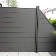 Wholesale Easy Installation WPC Outdoor Fencing Trellis Composite Garden Fence