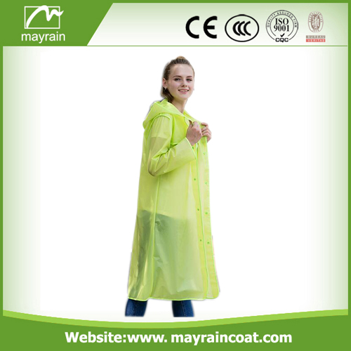 Hot Sale Long PVC Outdoor Jacket