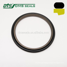 brown 40% bronze PTFE step seal rod buffer for hydraulic cylinder GSJ