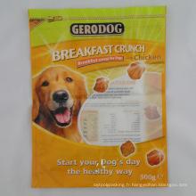 Sac en plastique d'emballage avec impression personnalisée de conception de logo (SB-008)