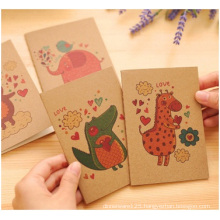 Wood Cover Craft Paper Notebook, Notebook for Promotion