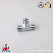 Macho Jic / Male Jic para Masculino O-Ring Run Tee Adapter