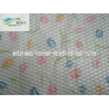 Printed100% algodón Seersucker tela para la ropa