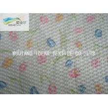 Printed100% Cotton Seersucker Fabric For Garment