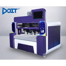 DT1610Double asynchronous heads máquina de corte láser de gran visión