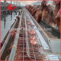 Cage de poulailler de poulailler de poulet de ferme de conception