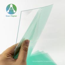 OCAN polished transparent polycarbonate sheet solid for stamping