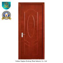Simple Style HDF Tür für Interieur (Braun)