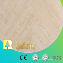 Plancher stratifié stratifié en bois d'érable de l'érable AC4 de planche de vinyle 12.3mm E0 AC4