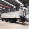 6Axles Box Hydraulic Dump Trailer