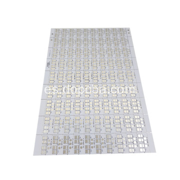 1Layer aluminio LED impreso placa de circuito LED PCB