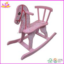 2015 New Kids Rocking Horse, Popular Wooden Children Push Toy (W16D016)