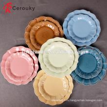 Китай завод продажа Рождественский подарок декоративные керамические пластины / блюдо