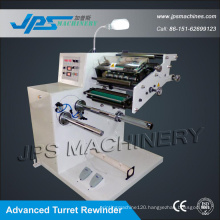 Auto Self-Adhesive Label Slitter with Turret Rewinder