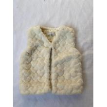 Junior's Baby's Fake Fur Vest  For Girls