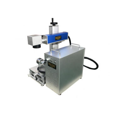 Machine d'inscription de fibre laser 30W
