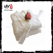 Hot selling hotel cotton kimono bathrobe for wholesales