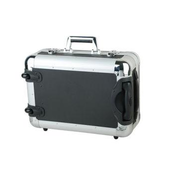 Aluminium Flight Case Silber Kamera Werkzeug Carry Reisetasche