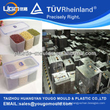 Alimentos plásticos que mantêm a caixa fresca / Molde de injeção de plástico / Molde de caixa de almoço / Molde de caixa de alimentos plásticos
