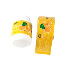 Waterproof Packaging Self Adhesive Label Sleeve For Small Plastic Jar