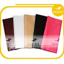 China Supplier African Bazin Embroidery Brocade Fabric Cotton Yarn Kid Garment Stock Lot Buyers