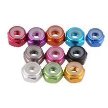 Color Aluminum Alloy Lock Loose Lock Nut