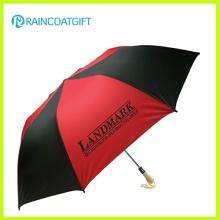 Manuell / Auto Open Windproof Werbe-Golf-Regenschirm