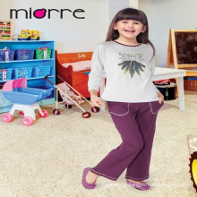 Miorre Оптовая продажа OEM 100% хлопок дети девушки пижамы печатных пижамы набор