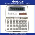 Calculatrice de poche miniature et blanche promotionnelle JS-12H