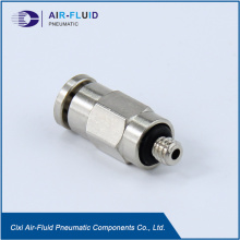 Air-Fluid Male Straight Connector Push in Fitting
