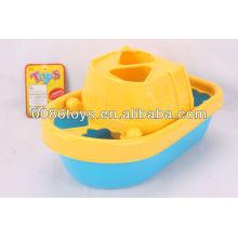 Rompecabezas de barco de plástico (clasificador de forma para que los niños aprendan)