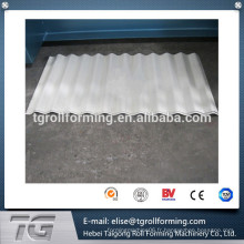 Machine de formage de rouleaux de toit métallique de haute qualité par fournisseur expérimenté à grande gamme