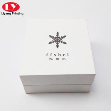 Nova caixa de papel para presente artesanal com colar