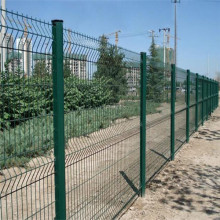 Galvanized/PVC coated iron wire mesh fence