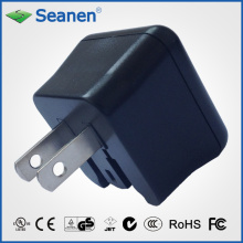 5VDC 1A Travel Charger with UL/cUL/GS/CE/C-Tick Approval