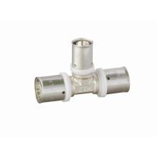 Reducing Tee (U Press Fitting) (Hz8113) for Pex-Al-Pex (aluminium plastic) Pipe