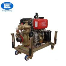 Дизельный двигатель портативный пожарный насос