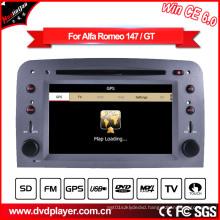 GPS Navigation with Auto DVD GPS for Alfa Romeo 147 Hualingan