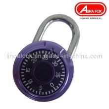 Round Combination Padlock / Zinc Alloy Colour Design (503S)